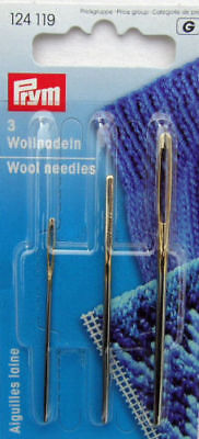 Wool Needles, Assorted Designs