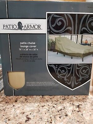 Patio Armor Chaise Lounge Cover 76 L X 28 W X 30 H Discontinued