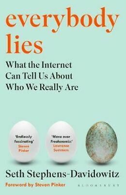 NEW Everybody Lies By Seth Stephens-Davidowitz Paperback Free Shipping