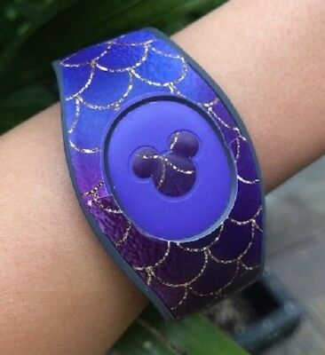 For Disney Magic Band 2 Decal Skin Stickers Mermaid Themed Many Color Choices