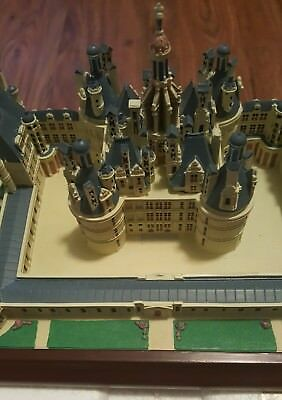 Vintage 1994 Lenox Great Castles Of The World Chateau De Chambord Mint In Box