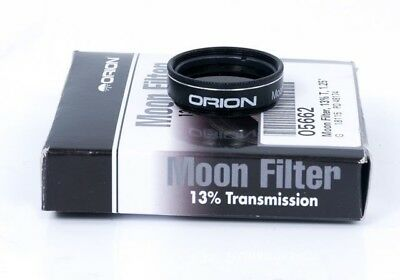 Orion 05662 1.25-Inch 13 Percent Transmission Moon Filter (Black)
