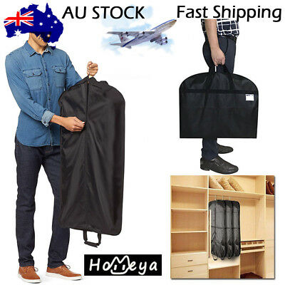 3PC Dress Clothes Coat Garment Suit Cover Bag Travel Dustproof Storage Protector