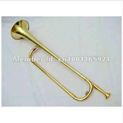 Chinese Army Military Bungle Horn Trumpet War Assault Charge Brass Instrument