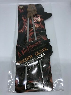 A Nightmare On Elm Street Freddy Glove Chop Sticks Loot Crate Exclusive (NEW)