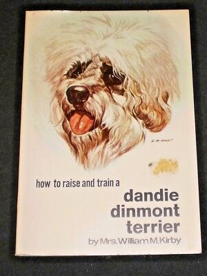 Vintage TFH Dog Book - How to Raise and Train a Dandie Dinmont Terrier Paperback