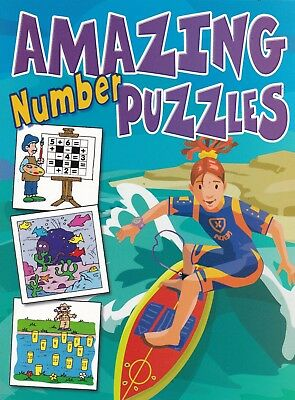 Amazing Number Puzzles 64 PAGES
