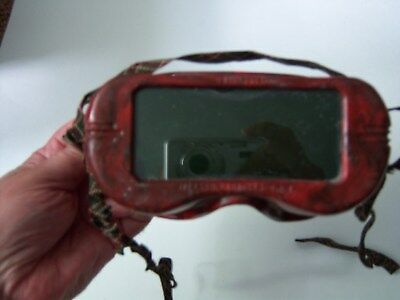 Widescreen View Welding Goggles, Vintage.
