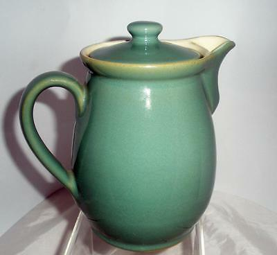 Denby Pottery Manor Green Pattern One Pint Coffee Pot made in Stoneware
