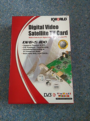 KWORLD DVB-S 100SE PCI DRIVERS FOR PC