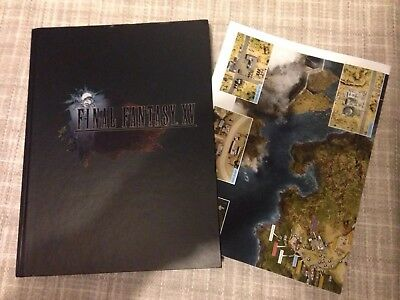 final fantasy 15 official strategy guide