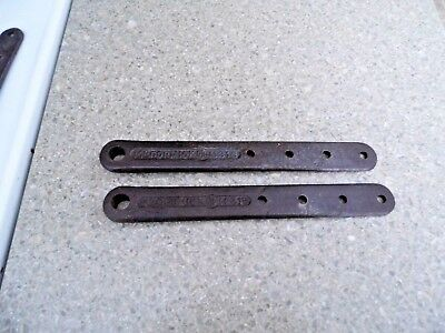 Pair of Antique McCormick - M315 - Round End Pitman Strap