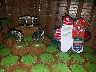 Heroscape Deathstalkers - Thora's Vengence With Card - D&D RPG Warhammer minis