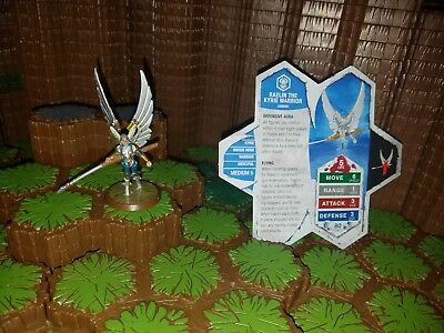 Heroscape Raelin - Rise of the Valkyrie With Card - D&D RPG Warhammer minis