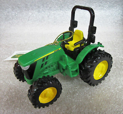 John Deere Farmer Green Tractor PVC Ornament Figurine