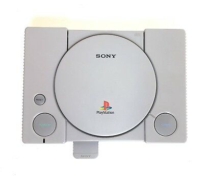 Sony PlayStation 1 PS1 Console ONLY w/ AV and Power Cord Works See description