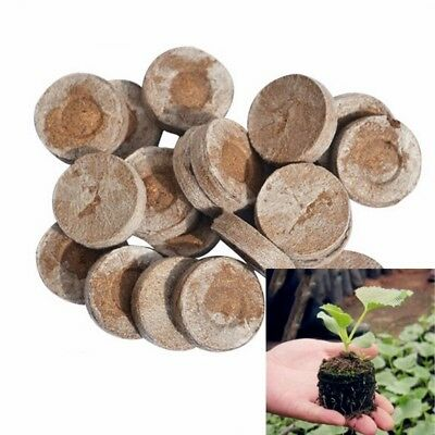 Jiffy 30 mm Peat / Compost Pellets Seed Starting Plugs 5pcs-pack Easy To Use