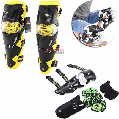 SCOYCO Adult Knee Guard Motorcycle ATV Racing Motocross Pads Protective Armor
