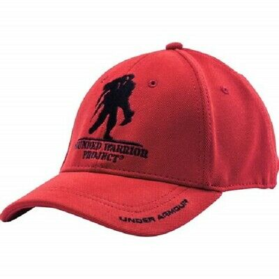 New Under Armour Wounded Warrior Project WWP Adjustable Black Cap Hat OSFA 95c4a45c5871