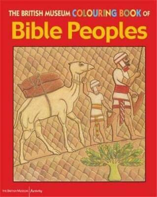 The British Museum Colouring Book of Bible Peopl... by Patricia Hansom Paperback