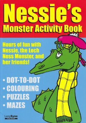 Nessie's Activity Book Paperback Book The Cheap Fast Free Post