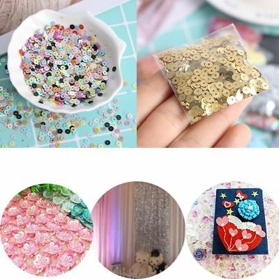 4mm Plastic Faceted Bead Wedding Loose Sequin Embellishment Sewing Paillette New