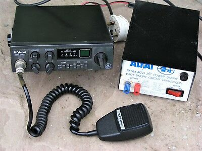 Cybernet Beta 3000 Cb Radio + Extras, Good Working Order