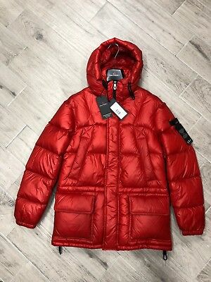 Peuterey Valder Down Jacket Parka Nylon Ripstop Peu2639 01181371 120 Orange 2018