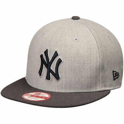 New York Yankees New Era Action 9FIFTY Snapback Adjustable Hat - Heathered 4caab434731