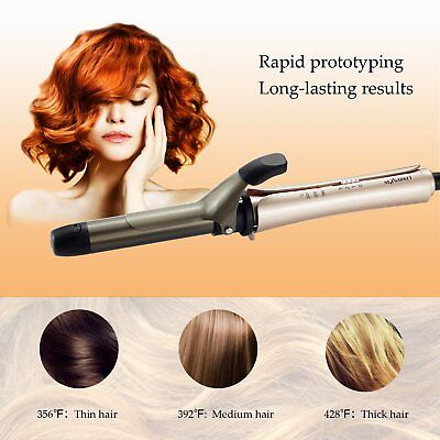 Interchangeable 3 in 1 Curling Iron Hair Curler Straightener Hot Brush Function
