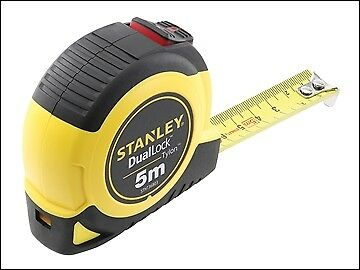 Stanley Tools DualLock Tylon Pocket Tape 5m (Width 19mm) (Metric only) STA036803