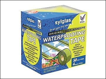 Sylglas Original Waterproofing Tape 50mm x 4m SYLWT50