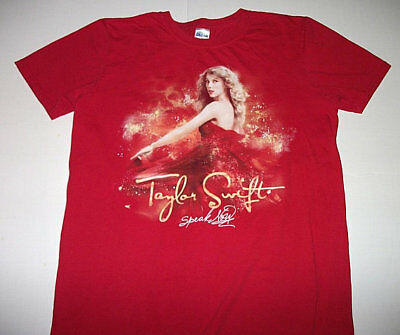 Taylor Swift Speak Now Red Concert Shirt Size Medium