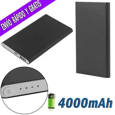 PowerBank Tu Power Bank Bateria Externa Cargador USB de 4000 / 8000 / 12000 mAh