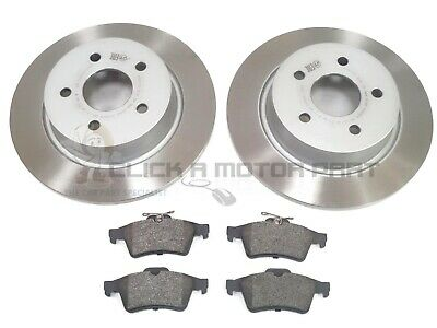 MINTEX REAR DISCS AND PADS 302mm FOR FORD KUGA I 2.0 TDCI 4X4 136 BHP 2008