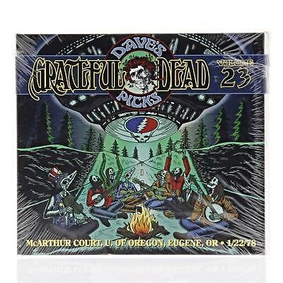 Grateful Dead Dave's Picks 23 University of Oregon McArthur Court 1/22/1978 3 CD