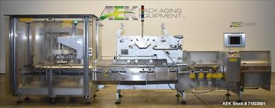 Used- Bosch-Sigpack High-Speed Horizontal Flow Wrapper, Model HCS. Machine is ca