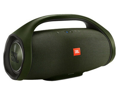 New JBL BOOMBOX PORTABLE Wireless BLUETOOTH SPEAKER FOREST GREEN Tailgate PARTY