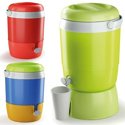 Hot & Cold 6L Thermos Water Barrel Beverage Dispenser Cans Bottles Drink Cooler