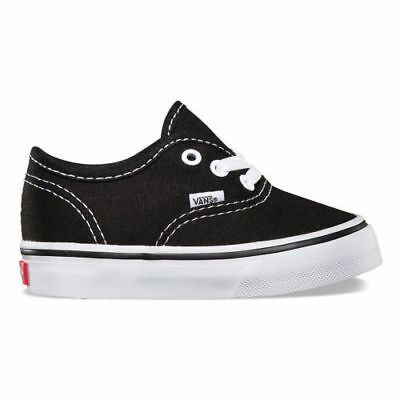64d1f1ba82fc90 Vans Authentic Infant Size Shoes For Toddlers Black White Vn-0Ed9Blk