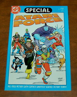 Atari Force Special #1 1986 VF/NM (9.0) White Pages DC Comics