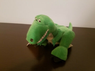 "A Bug's Life Rex Mini Plush Bean Bag The Disney Store 9"" (NEW)"