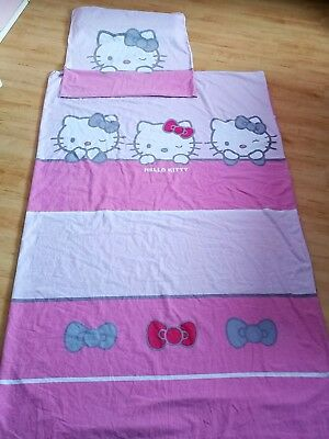 Hello Kitty Kinder Wende Bettwäsche 135x200 Cm 80x80