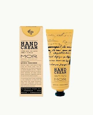MOR Hand Cream 100Ml Quince Persimmon!