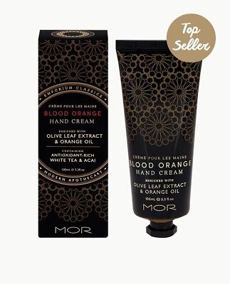 MOR Emporium Classics Hand Cream 100Ml Blood Orange!