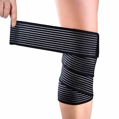 High elasticity Calf Thigh Support Knee Brace Compression Wrap Support Bandage!