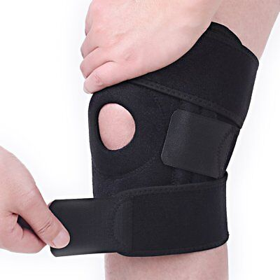 Knee Brace Support, Open Patella Stabilizer with Adjustable Strapping!
