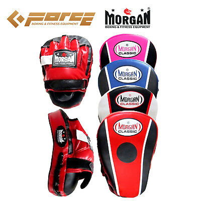 Boxing FOCUS PADS MORGAN CLASSIC ALL PURPOSE PRE-BENT Curved mitt pads Muay Thai