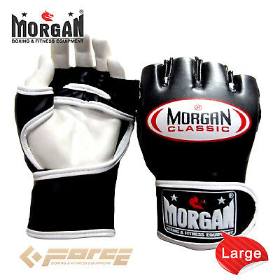 Morgan MMA Ultimate Competition Grappling Gloves UFC Fight Boxing Punch Bag Spar