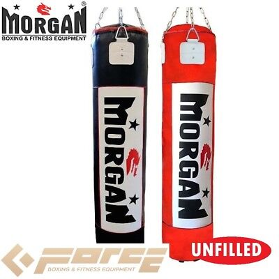 MORGAN 6 ft/180cm Muay Thai/Boxing Punch Bag UNFILLED MMA UFC Heavy Punch Bag Re